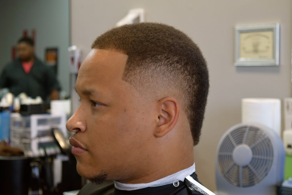 Barber And Beauty : Jarus Rice aka J? Cutz at Heads Up Barber and Beauty